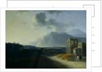 Landscape with Mount Stromboli by Willem Schellinks