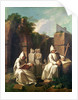 Carthusian Monks in Meditation by Etienne Jeaurat