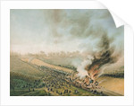 Accident on the Versailles to Bellevue Railway by French School