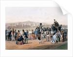 Racecourse at the Bois de Boulogne by Eugene Charles Francois Guerard