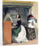 A Music School Pupil by Alfred Andre Geniole