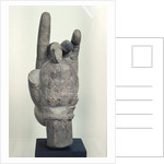 Hand from a colossal statue of Shiva by Cambodian School