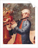 A Flautist by Mexican School