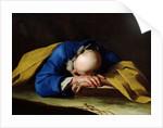 St. Peter or St. Jerome Sleeping by Giuseppe Antonio Petrini