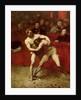 Wrestlers by Jean Alexandre Joseph Falguiere