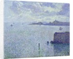 Sailing Boats in an Estuary by Theo van Rysselberghe