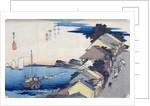 Kanagawa: View of the Ridge by Ando or Utagawa Hiroshige