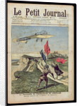 Louis Bleriot landing at Dover by French School