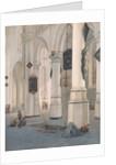 Church Interior by Emanuel de Witte