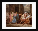 Jesus Driving the Merchants from the Temple by Jean-Germain Drouais
