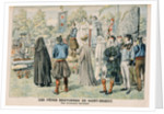 Bardic Ceremony at Saint-Brieuc, Brittany by French School