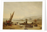 View of Ambleteuse, 1854 by Philippe Auguste Jeanron