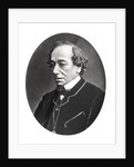 Benjamin Disraeli c.1874 by English Photographer