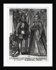 Portrait of Albert, Archduke of Austria and his wife Isabella Clara Eugenia Archduchess of Austria by Austrian School