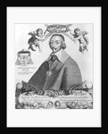 Portrait of Cardinal de Richelieu by Paul Roussel