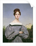Portrait of Louise Vernet Daughter of the Artist by Emile Jean Horace Vernet