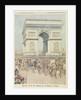 Tsar Nicolas II in Paris by Henri Meyer