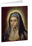 The Virgin Mary by El Greco