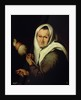 An Old Woman Spinning by Bartolome Esteban Murillo