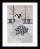 A Courtisan with a Shamisen by Kikukawa Eizan