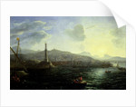 The Port of Genoa, Sea View by Claude Lorrain