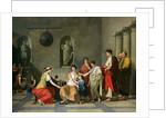 The Mother of the Gracchi by Joseph Benoit Suvee