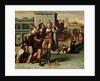 Augustus and the Tiburtine Sibyl by Netherlandish School