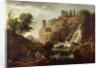 The Falls of Tivoli by Claude Joseph Vernet