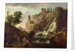 The Falls of Tivoli by Claude Joseph Vernet