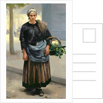 Marianne Orfrey, Vegetable Seller by Alfred Roll