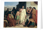 Anointing of David by Samuel by Felix-Joseph Barrias