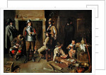Soldiers at Rest in an Inn by Jean Michelin