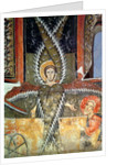 Seraphim purifying the lips of Isaiah, Catalan School by Spanish School