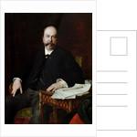 Portrait of Henri Meilhac by Jules Elie Delaunay