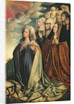 Mary the Mediator with Joanna the Mad and her entourage, right hand panel from an altarpiece by Colijn de Coter