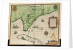 Map of Florida by Jacques Le Moyne