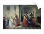Blessing the Bread by Francois Archange Joseph Bodin