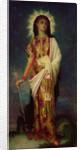 St. Margaret Slaying the Dragon by Antoine Auguste Ernest Herbert or Hebert