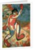 A Bather by Kazimir Severinovich Malevich