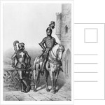 Captain of the archers of Paris, Knight of watch by French School