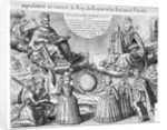 Henri IV with his Family by French School