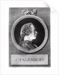 Jean le Rond d'Alembert by Charles Nicolas II Cochin