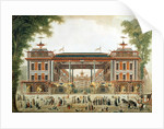 The Chinese Baths in Paris, established by Lenoir by French School
