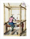 A Venetian Weaver by Jan van Grevenbroeck