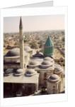 Aerial view of the Mevlana Tekke by Turkish School