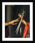 The Oath of Horatii, 1784 by Jacques Louis David