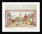 Meeting of Hernando Cortes and Montezuma by Diego Duran