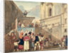 The Puppet Theatre by Achille Pinelli