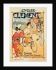 Poster advertising 'Cycles Clement', Pre Saint-Gervais by French School
