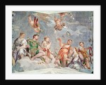 The Court of Love or, The Conjugal Virtues by Veronese